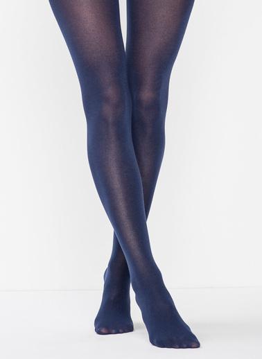 Penti Bambu Külotlu Çorap Mavi